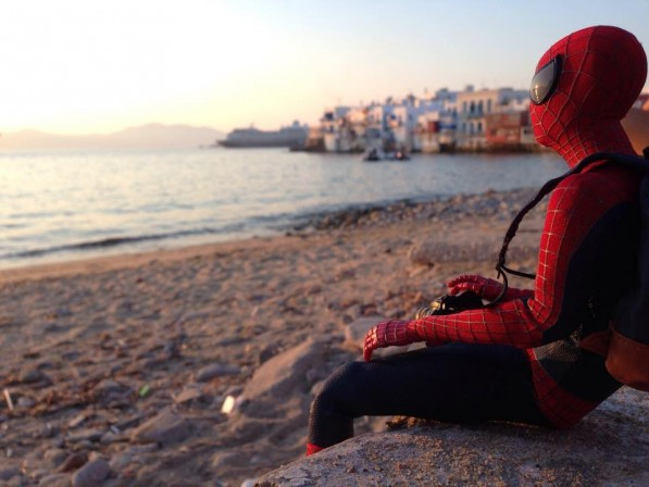 How Spider-Man is spending his summer vacation