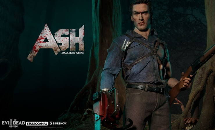 Ash Evil Dead Sixth Scale Figure