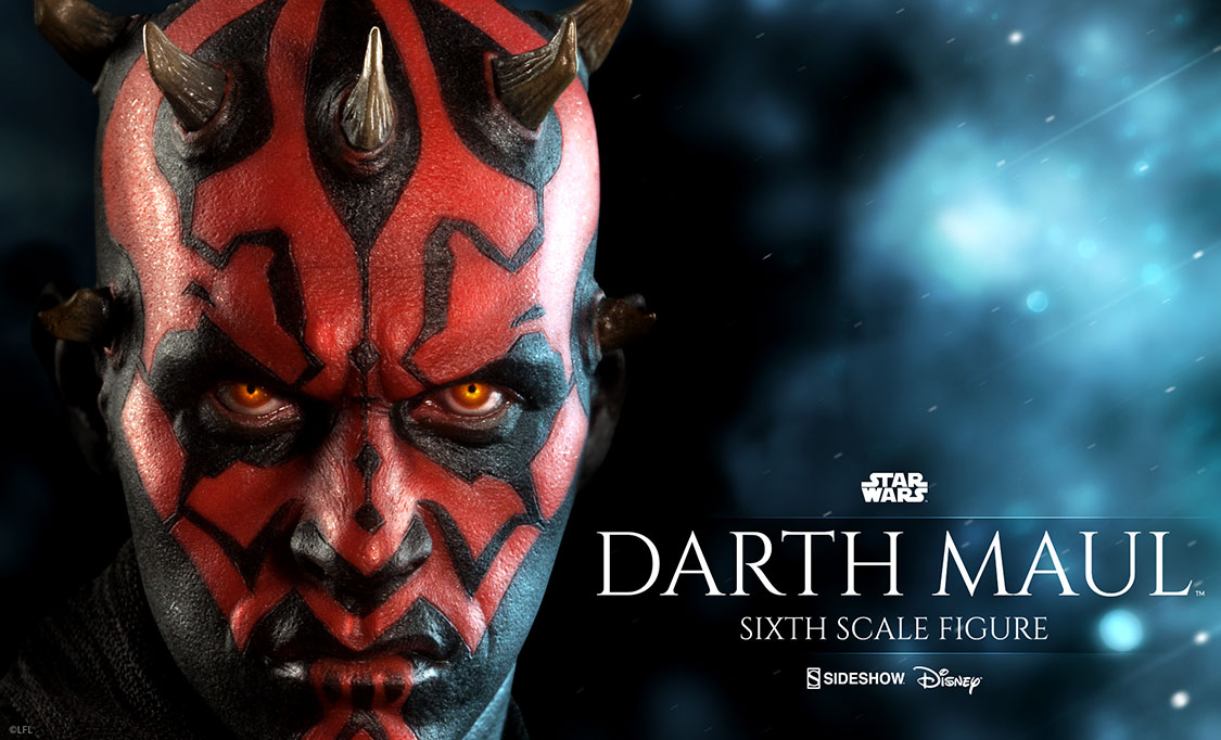 Darth maul sixth scale figure sideshow collectibles