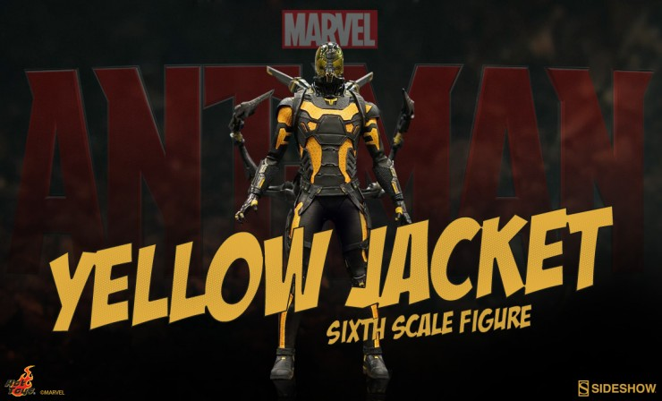 Hot Toys Yellowjacket Sixth Scale Figure