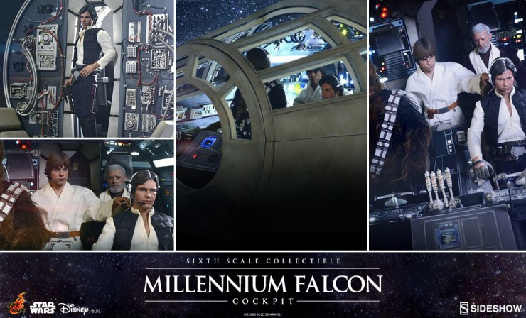 Hot Toys Sixth Scale Millennium Falcon Cockpit