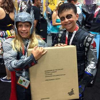 Winner, winner! See who won prizes at Comic-Con!