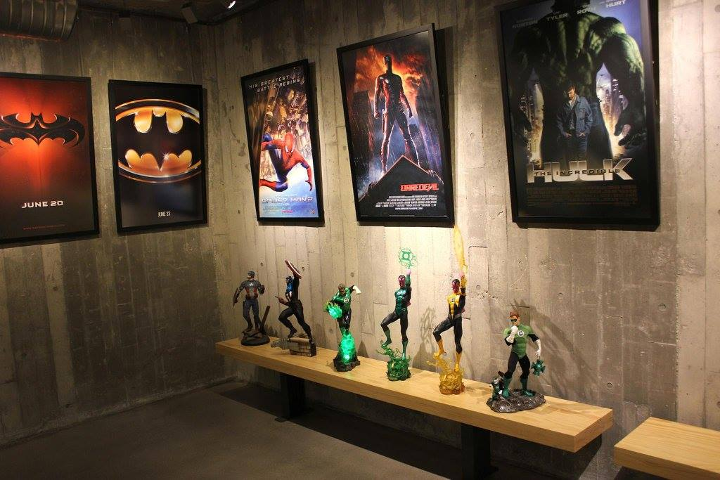 Inside The Ultimate Collectors Secret Base U2013 Movie And Comic Themed Room