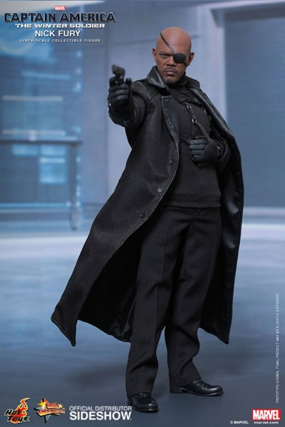 You need to keep both eyes open… for Hot Toys Nick Fury!