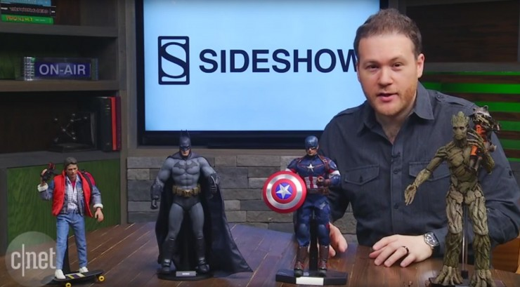 CNET checks out new Hot Toys – Arkham City Batman, Marty McFly and more