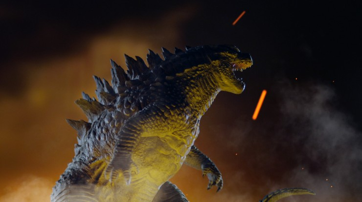 Godzilla Statue video sneak peek and giveaway