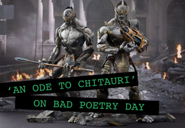 Avengers fans write 'An Ode to Chitauri' on Bad Poetry Day