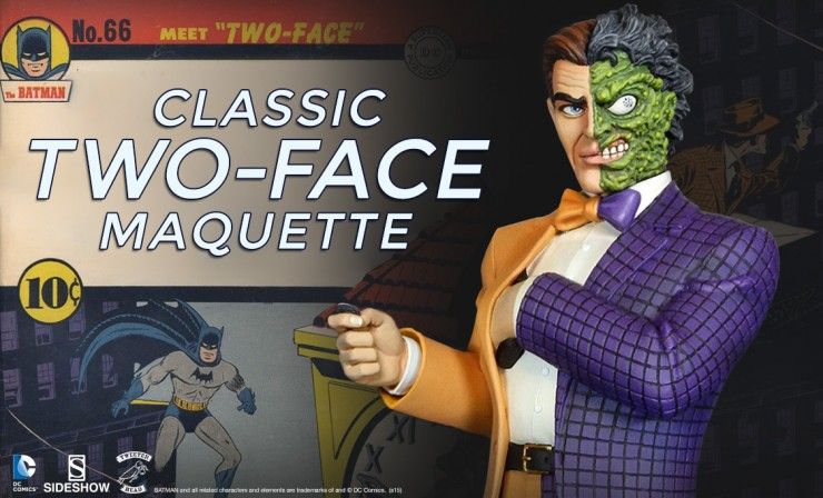 Tweeterhead Classic Two-Face Maquette