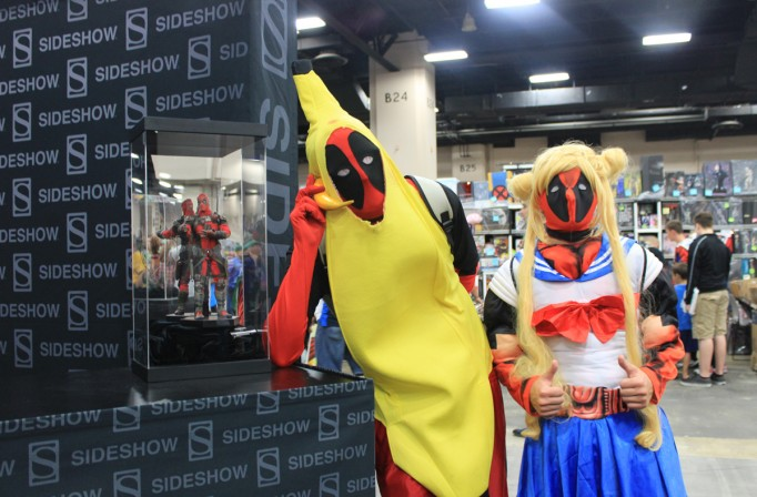 14 times Deadpool visited the Sideshow booth at Alamo City Comic Con
