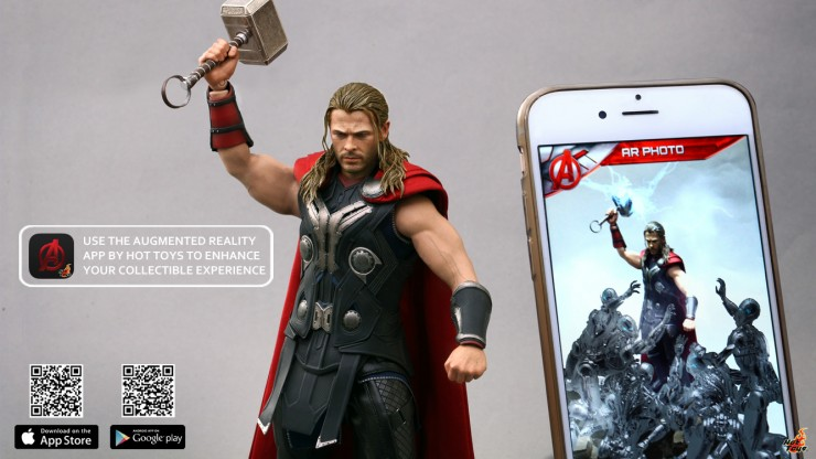 Hot Toys releases their 3D Augmented Reality app for Thor!