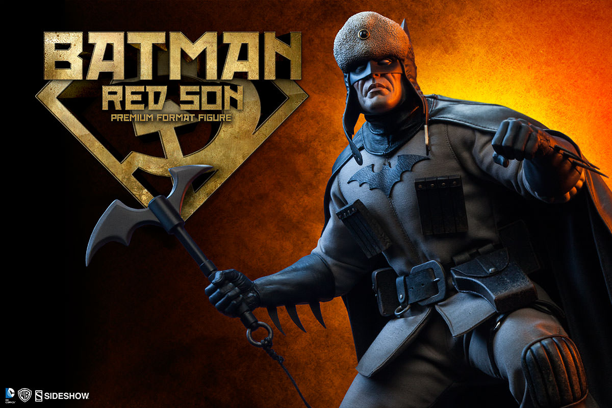 Anarchy In Black Introducing The Batman Red Son Premium Format