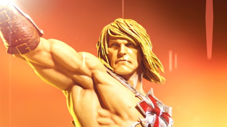 He-Man Masters of the Universe Statue Video Sneak Peek