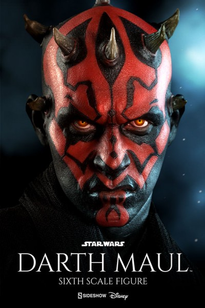 At last, Sideshow's new Darth Maul Sixth Scale Figure will be revealed!