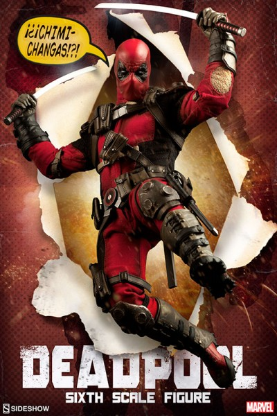 New Deadpool Sixth Scale Figure final production photos! You're welcome mankind!