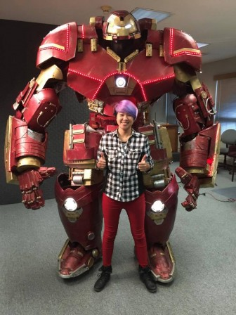 This 9-foot fan-made Hulkbuster armor will blow your mind