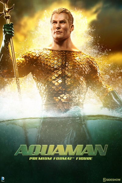 Aquaman will be making waves as the next addition to the Sideshow Justice League collection