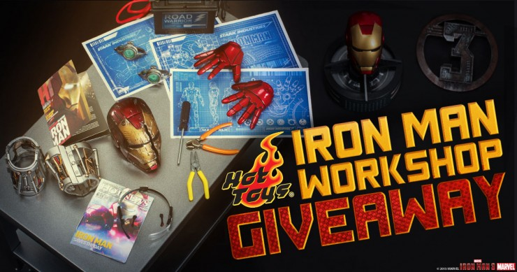 NYCC Iron Man Giveaway