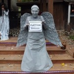 Jennifer P. as Weeping Angel from Doctor Who