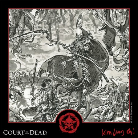Presenting the next Court of the Dead Art Print from master illustrator Kim Jung Gi