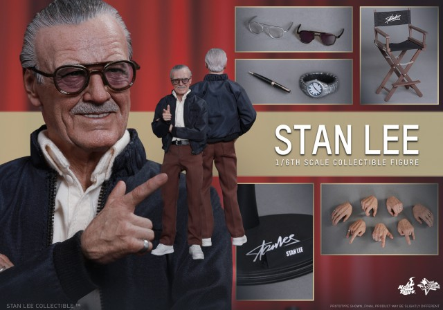 Excelsior! Hot Toys Stan Lee sixth scale figure perfectly commemorates the living legend!