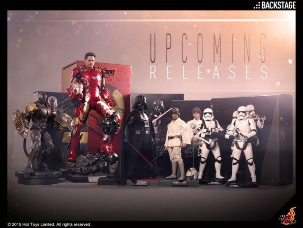 Hot Toys Upcoming Product Release Updates – Darth Vader and Luke Skywalker, Force Awakens and more!