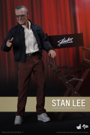 Hot Toys Stan Lee SIxth Scale Collectible Figure