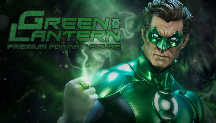 Celebrating 75 years of Green Lantern –  Here's your first look at the Green Lantern Premium Format Figure