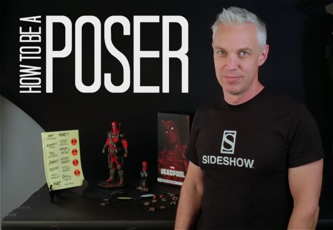 Time to take on the Merc with a Mouth! Tips for posing the Deadpool Sixth Scale Figure