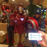 Andrew K. and friends as the Avengers