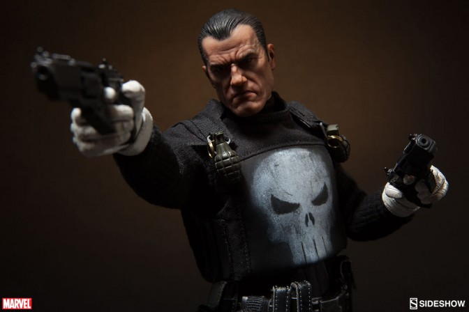 The Punisher joins Sideshow's Marvel sixth scale collection