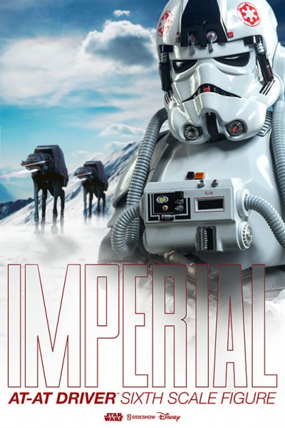 Imperial AT-AT Drivers join the ranks of Sideshow's Star Wars Sixth Scale Hoth collection