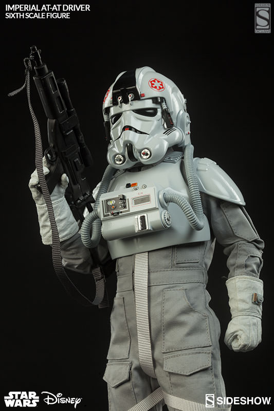 Exclusive Star Wars Imperial AT-AT Driver Sixth Scale Figure