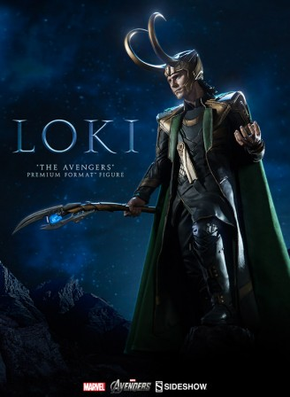 Loki 'The Avengers' Premium Format Figure will bring you to your knees