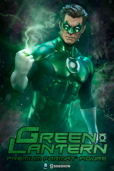 Beware our power –Green Lantern joins the Sideshow Justice League Premium Format Figure collection!