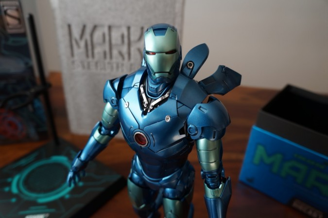 Unboxing the Hot Toys Stealth Iron Man Mark III Figure