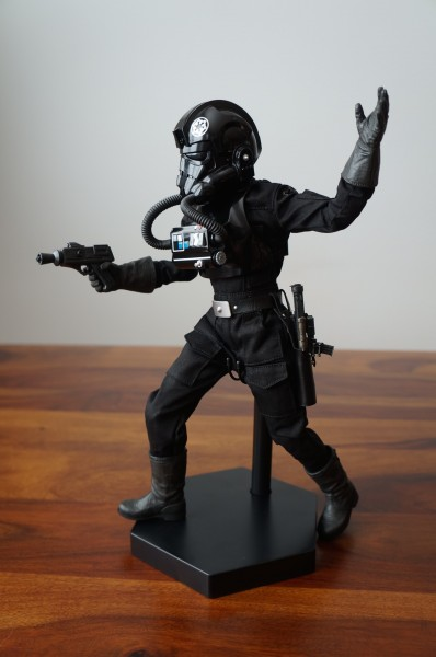 Comic Vine recruits the Imperial TIE Fighter Pilot Sixth Scale Figure for review