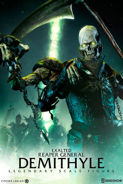 Fear the Reaper! Sideshow's Court of the Dead presents the Demithyle – Exalted Reaper General Legendary Scale Figure