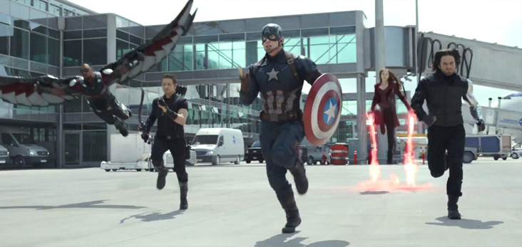 The first Captain America Civil War trailer is here! Whose side are you on?