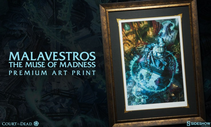Malavestros: The Muse of Madness Premium Art Print