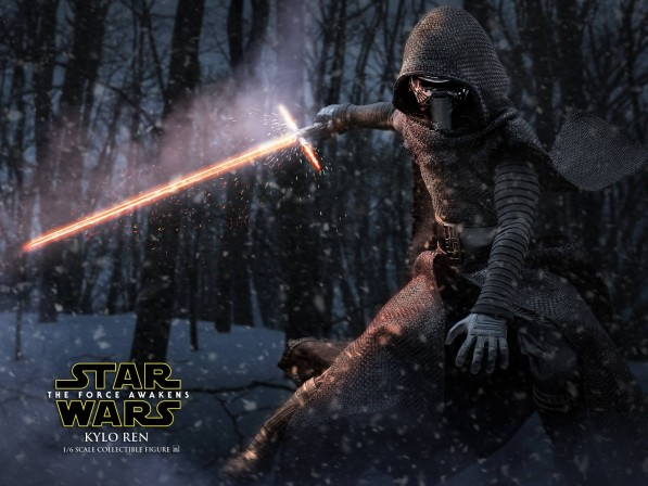 Hot Toys fulfills their destiny with new photos of Kylo Ren 1/6th scale collectible figure