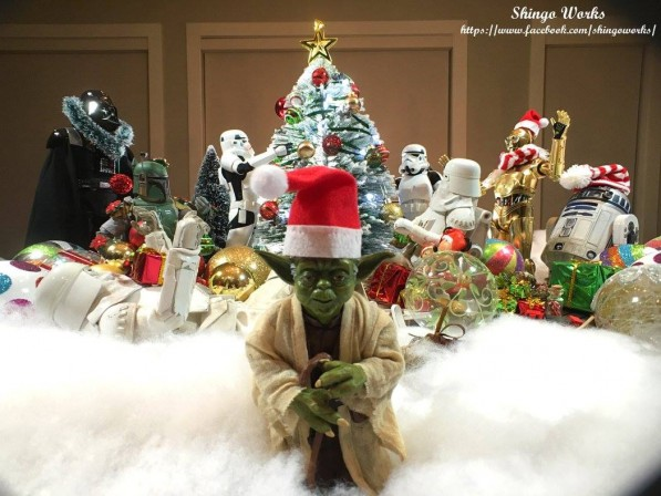 It's beginning to look a lot like Star Wars…