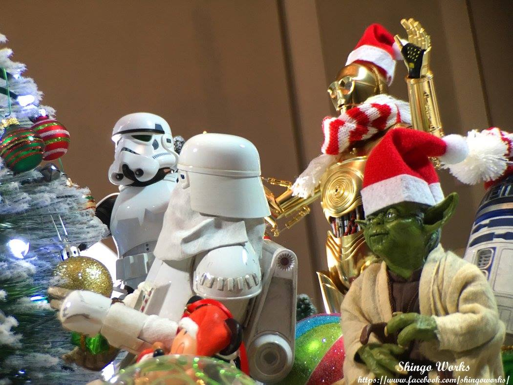 Star Wars Christmas Village Diorama