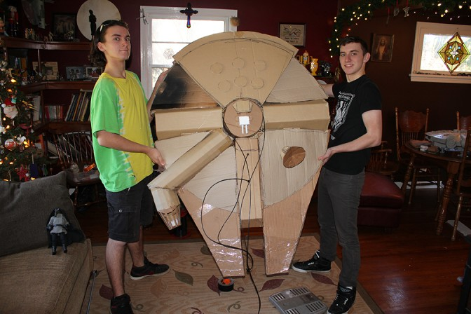 These fans built the hottest Millennium Falcon around