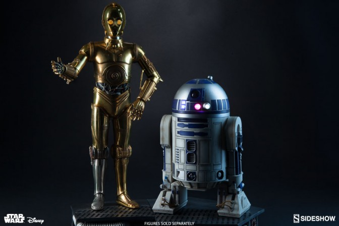 C-3PO, human-cyborg relations, and his counterpart R2-D2!