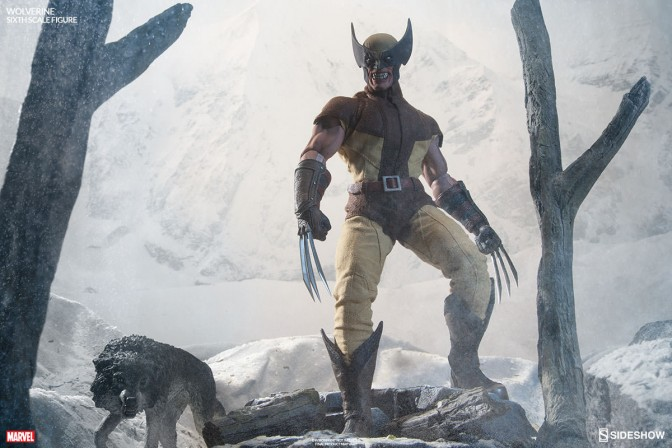 Sharpen those claws, Bub – Here comes Wolverine!