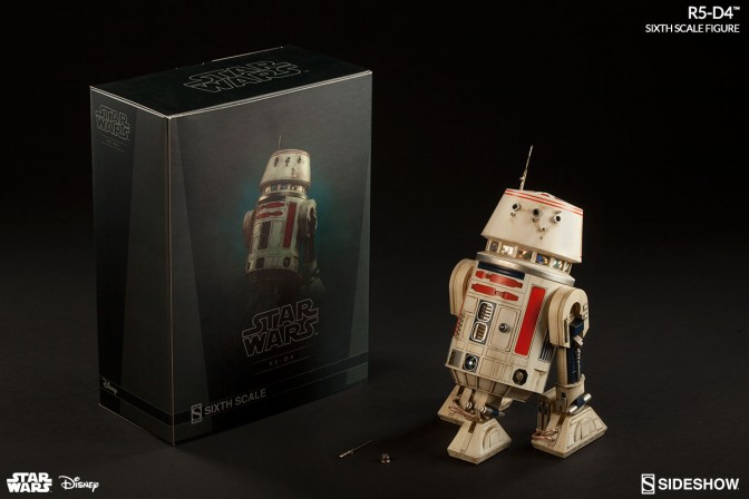 R5-D4 Sixth Scale –Final Production Gallery