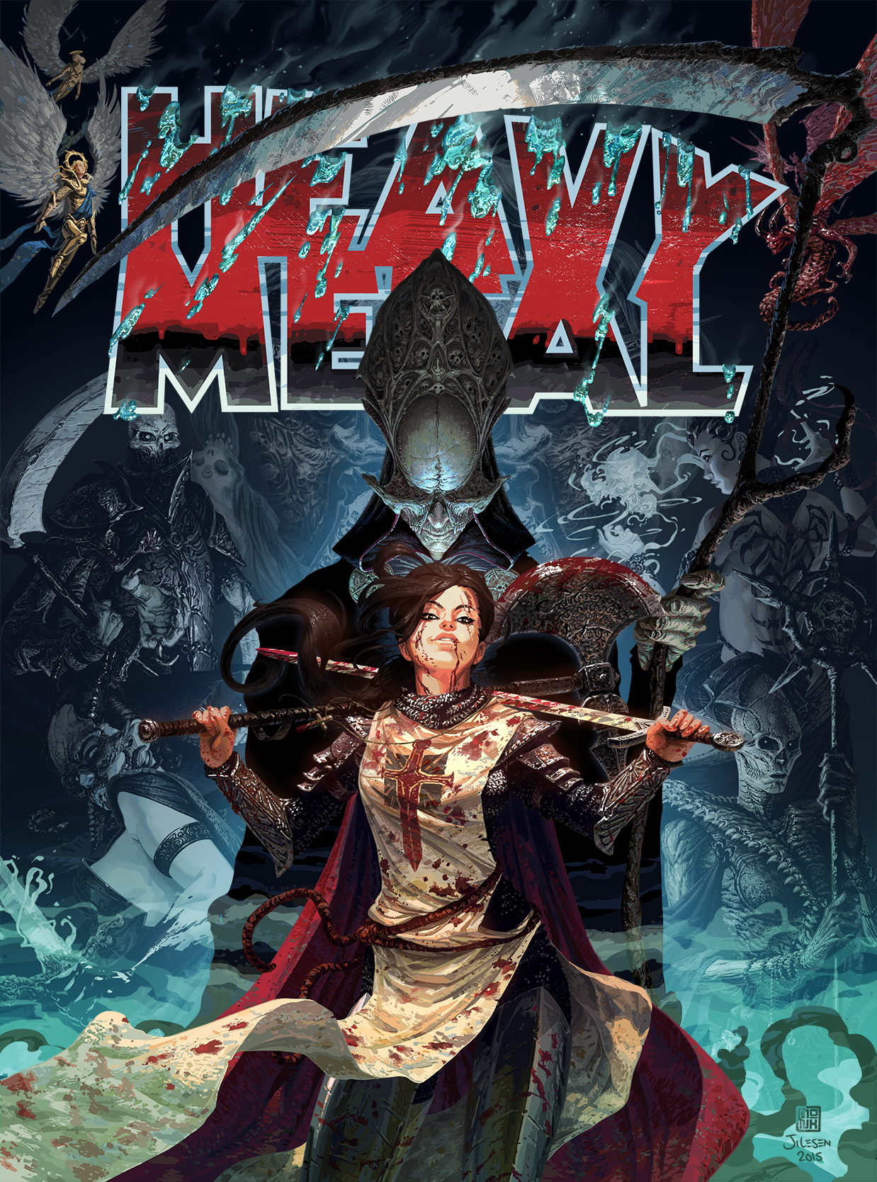 Court Of The Dead Makes A Debut In Heavy Metal Magazine
