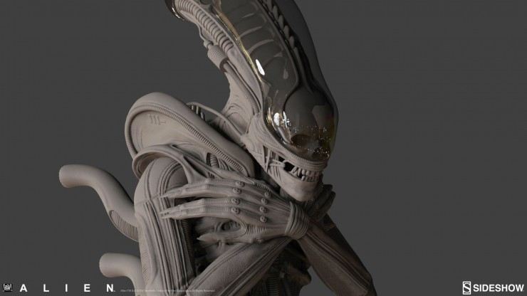 Wait til you see the insane detail in Sideshow's Alien: Internecivus raptus Statue up close – Game over, man!