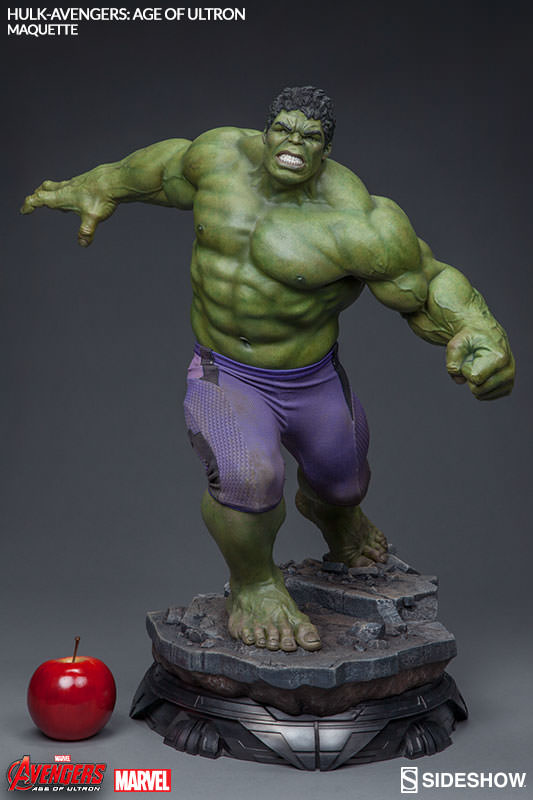 Alright everybody stand down it s hulk from avengers for Maquette stand