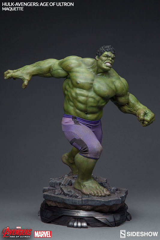 Alright everybody stand down it 39 s hulk from avengers for Maquette stand